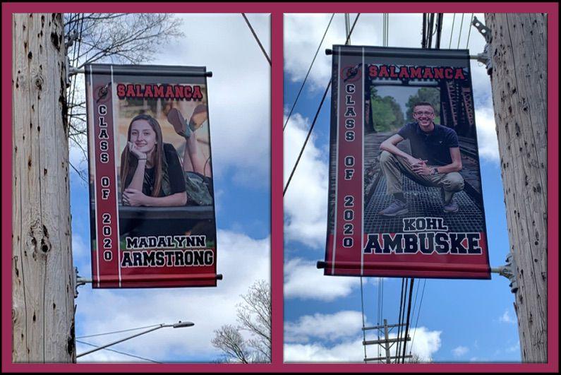 Salamanca Grads Get Banner Recognition